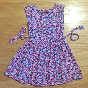 Gap Kids Heart Dress Girls size Small 6-7 S